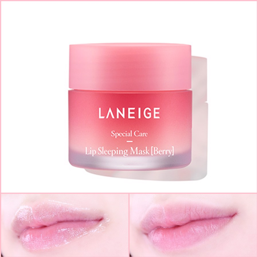 Mặt Nạ Ngủ Hồng Môi LANEIGE Lip Sleeping Mask 20gr (Sweet Berry Complex)