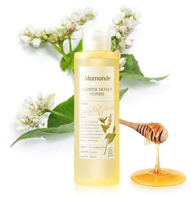 Nước Hoa Hồng Săn Chắc Da Cấp Ẩm MAMONDE Flower Honey Toner 250ml