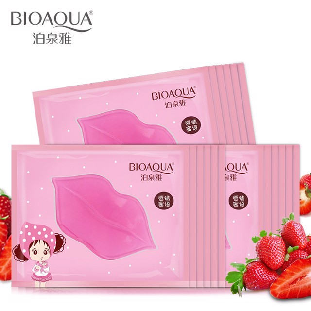 Mặt nạ Môi Bioaqua Collagen Nourish Lips Membrane Mask