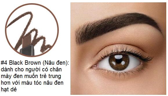 Chì Kẻ Mày The Face Shop fmgt Designing Eyebrow Pencil