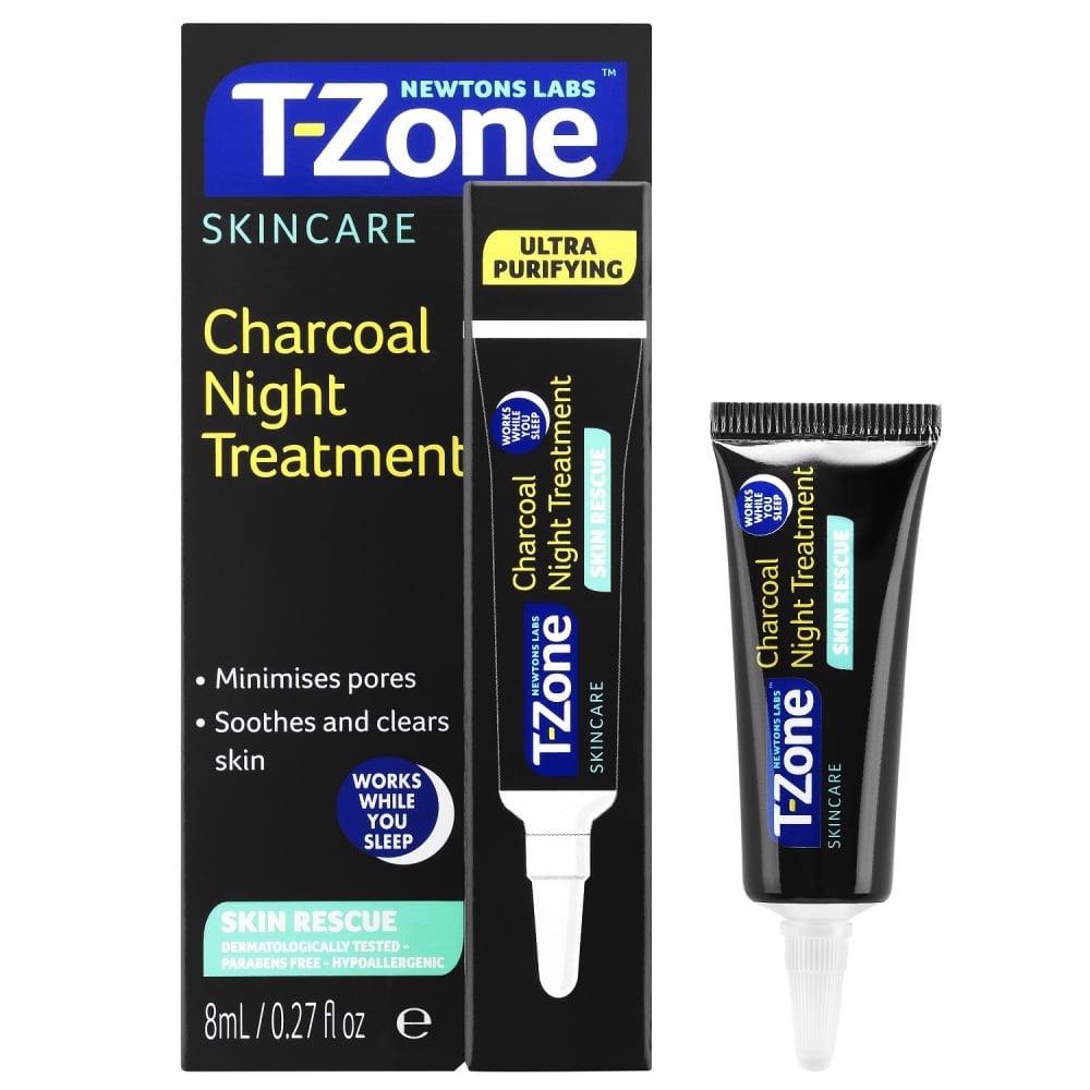 [Chính hãng] Kem Đặc Trị Chấm Mụn Se Lỗ Lông T-Zone Skincare Charcoal Night Treatment 8ml
