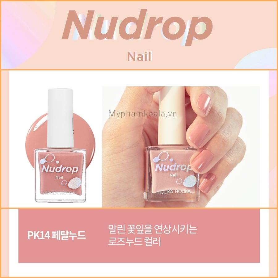 [NEW 2019] Sơn Móng Tay Holika Nudrop Nail 10ml