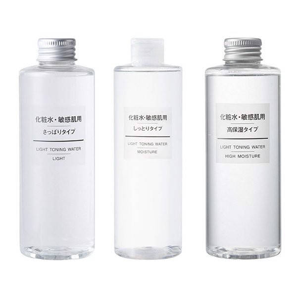 Nước Hoa Hồng Muji Light Toning Water (200ml)