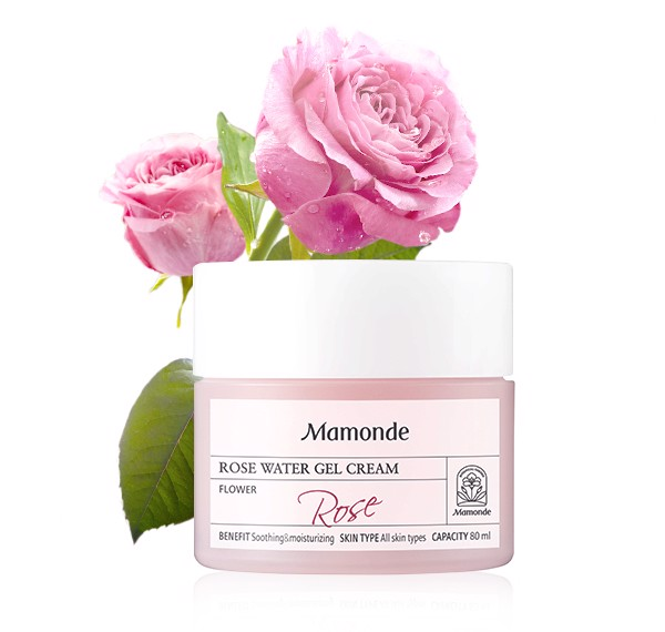 Kem Cấp Nước Mamonde Rose Water Gel Cream 80ml
