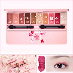 Bảng Màu Mắt 10 ô Etude House Play Color Eyes #Cherry Blossom