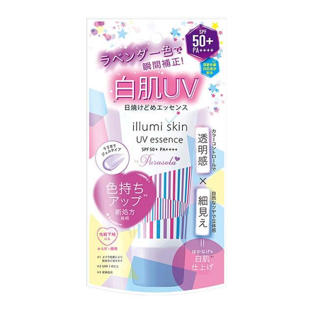 Kem Chống Nắng Nâng Tông Da Naris Illumi Skin UV Essence By Parasola SPF 50+ PA++++ 80gr