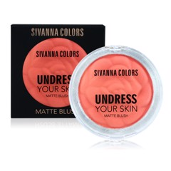 Má Hồng Phấn Sivanna Undress Your Skin Matte Blush HF1005