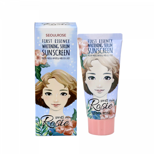 Kem Chống Nắng Rosie First Essence Whitening Serum Sunscreen SPF45 PA+++ 45g