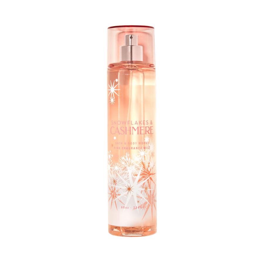 Xịt Body Bath & Body Works SNOWFLAKES CASHMERE Fine Fragrance Mist