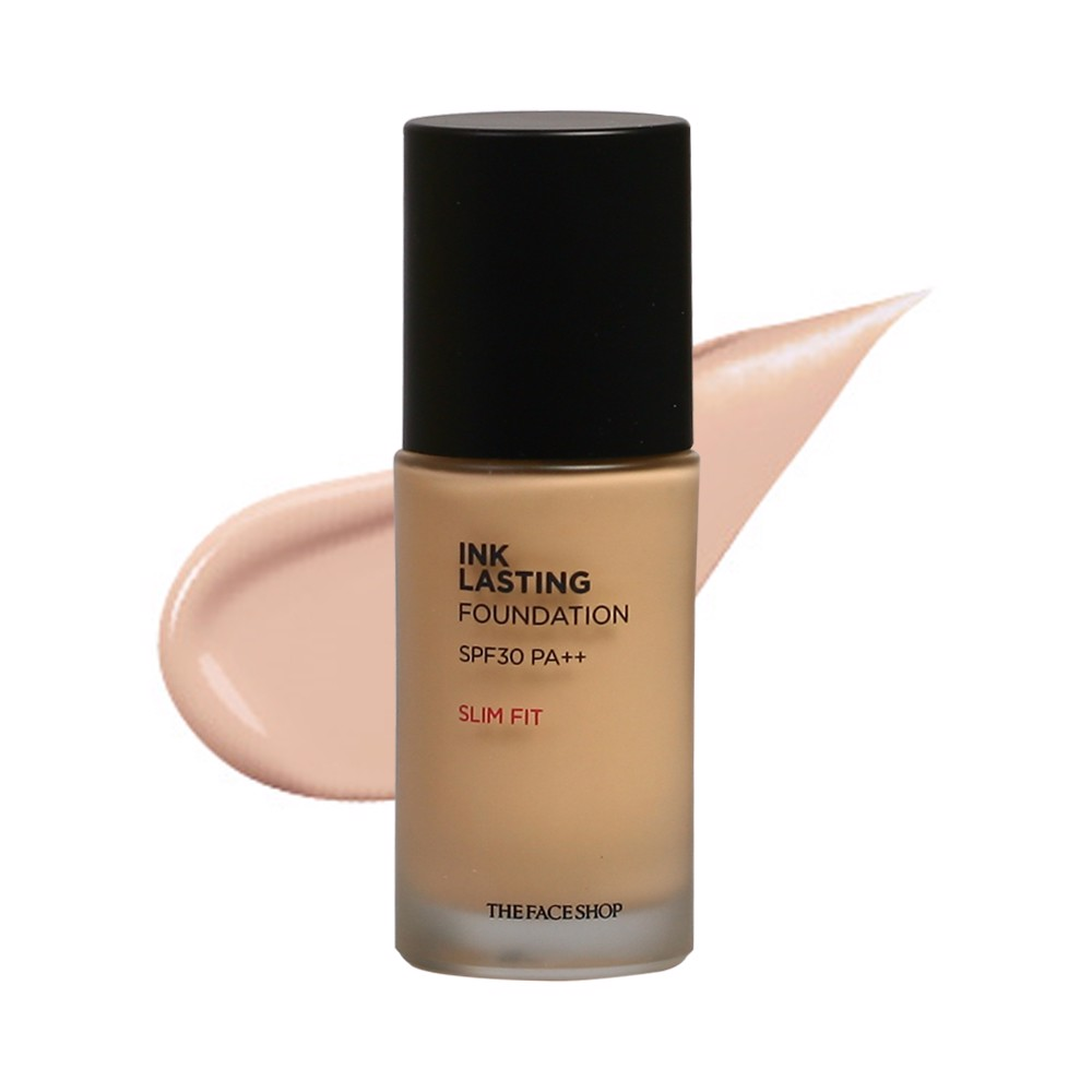 Kem Nền The Face Shop Ink Lasting Foundation SLIM FIT SPF30 PA++ 30ml