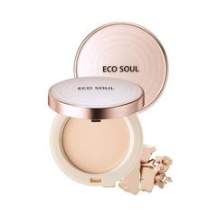 Phấn Phủ The Saem Eco Soul Perfect Cover Pact SPF27 PA ++ (11g)