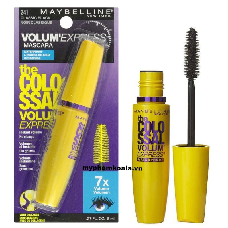 Chuốt Mi Maybelline The Colossal Volum'Express 7X Mascara