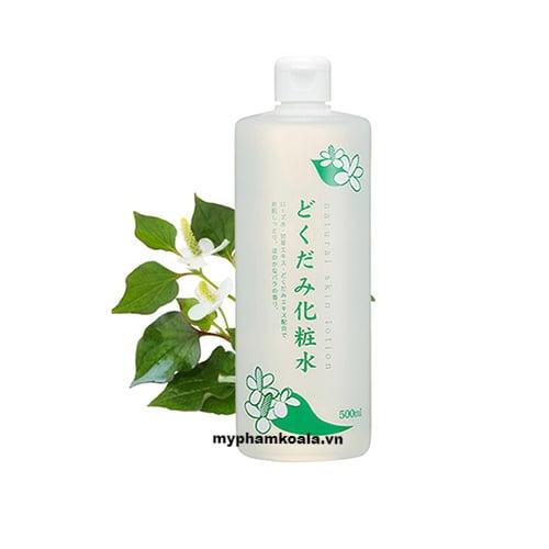 Nước Hoa Hồng Trị Mụn Diếp Cá Dokudami Natural Skin Lotion 500ml