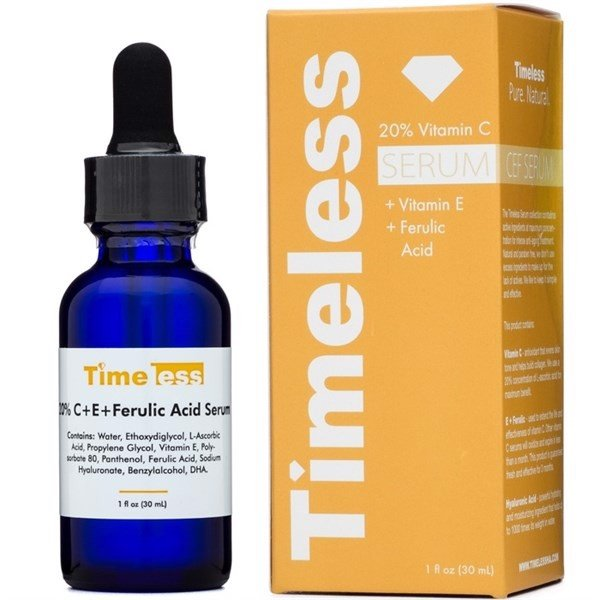 Tinh chất Timeless 20% Vitamin C + E + Ferulic Acid Serum 30ml