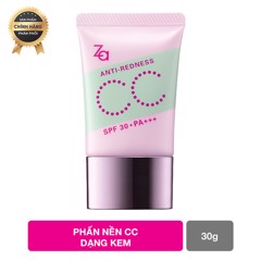 Kem nền ZA CC Anti-Redness SPF30 PA ++