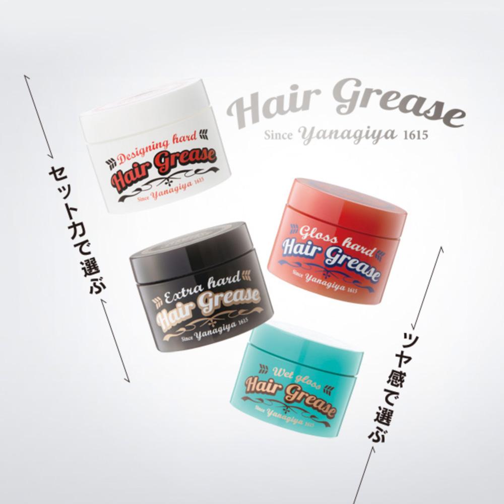 Wax & Gel Tạo Kiểu Tóc Yanagiya Hair Grease 90g