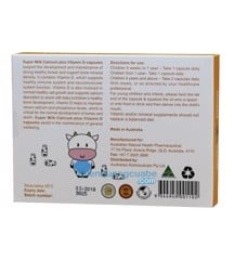 Milk Calcium Plus Vitamin D3 for Kids ( 30 viên )