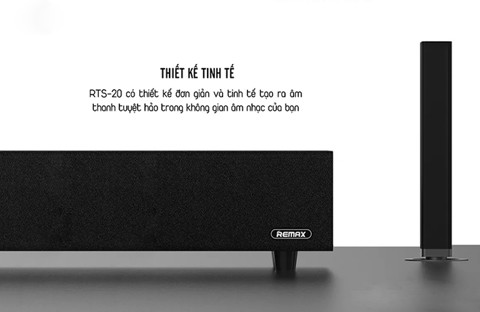 Loa Bluetooth REMAX Tris Series Home Theatre Sound Bar RTS-20 Wireless subwoofer