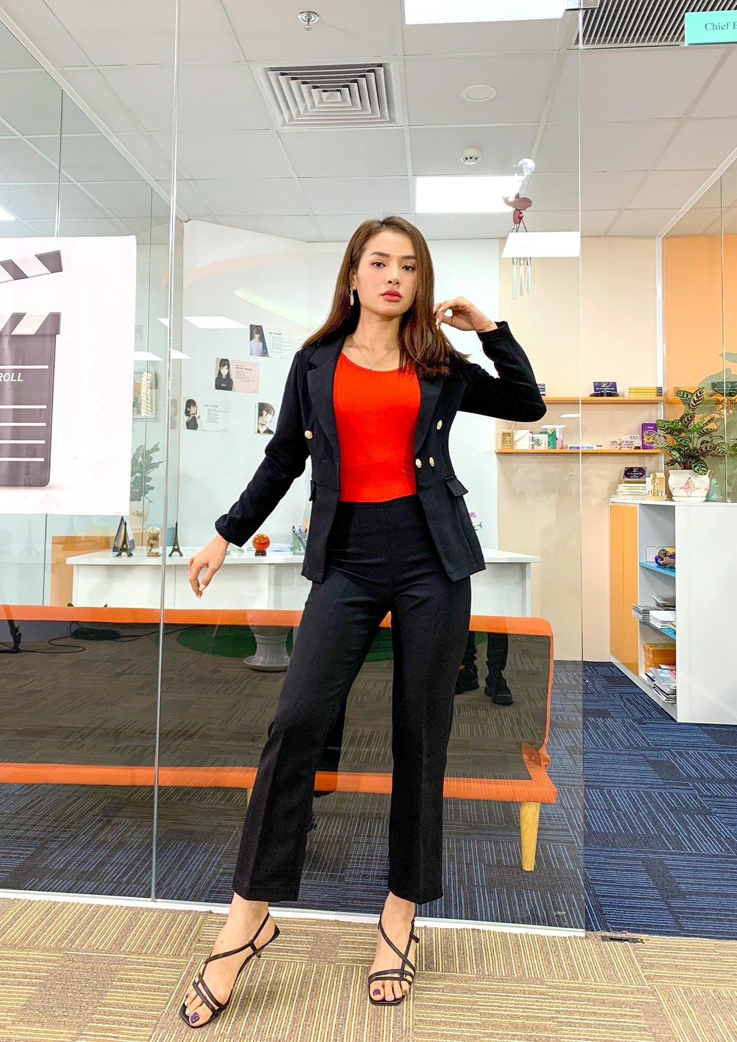 Vest nữ Mia Selena thiết kế phong cách doanh nhân sang trọng, trẻ trung