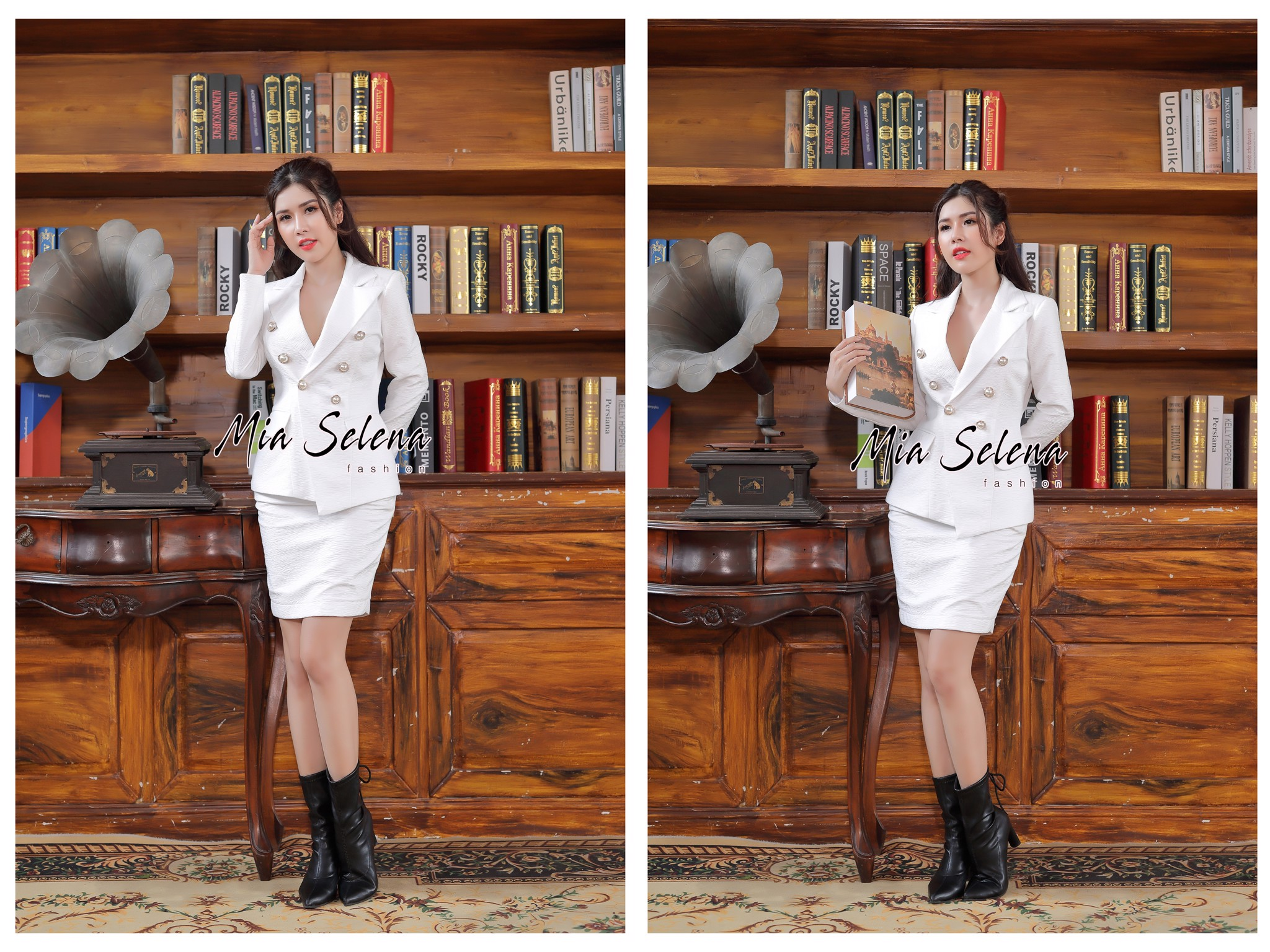 Vest doanh nhân Mia Selena thiết kế phong cách mới lạ