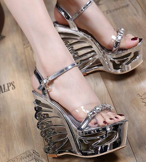 Giày Mia Selena  đế suồng  size 37 (Bạc)