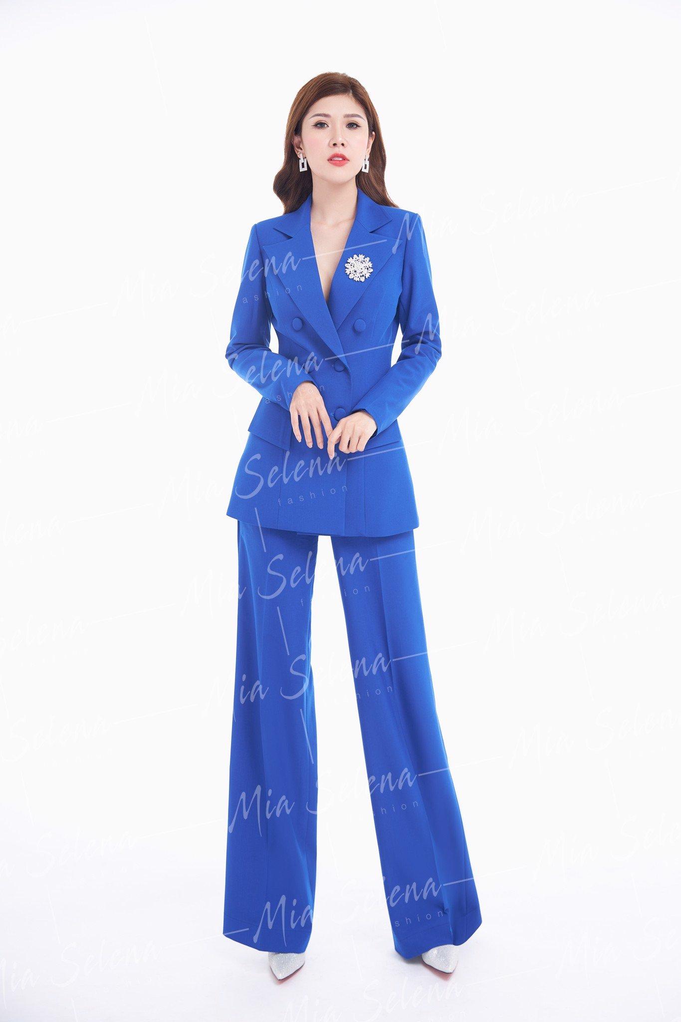 Bộ vest Mia Selena thiết kế hai lớp phong cách sang trọng cực tôn dáng