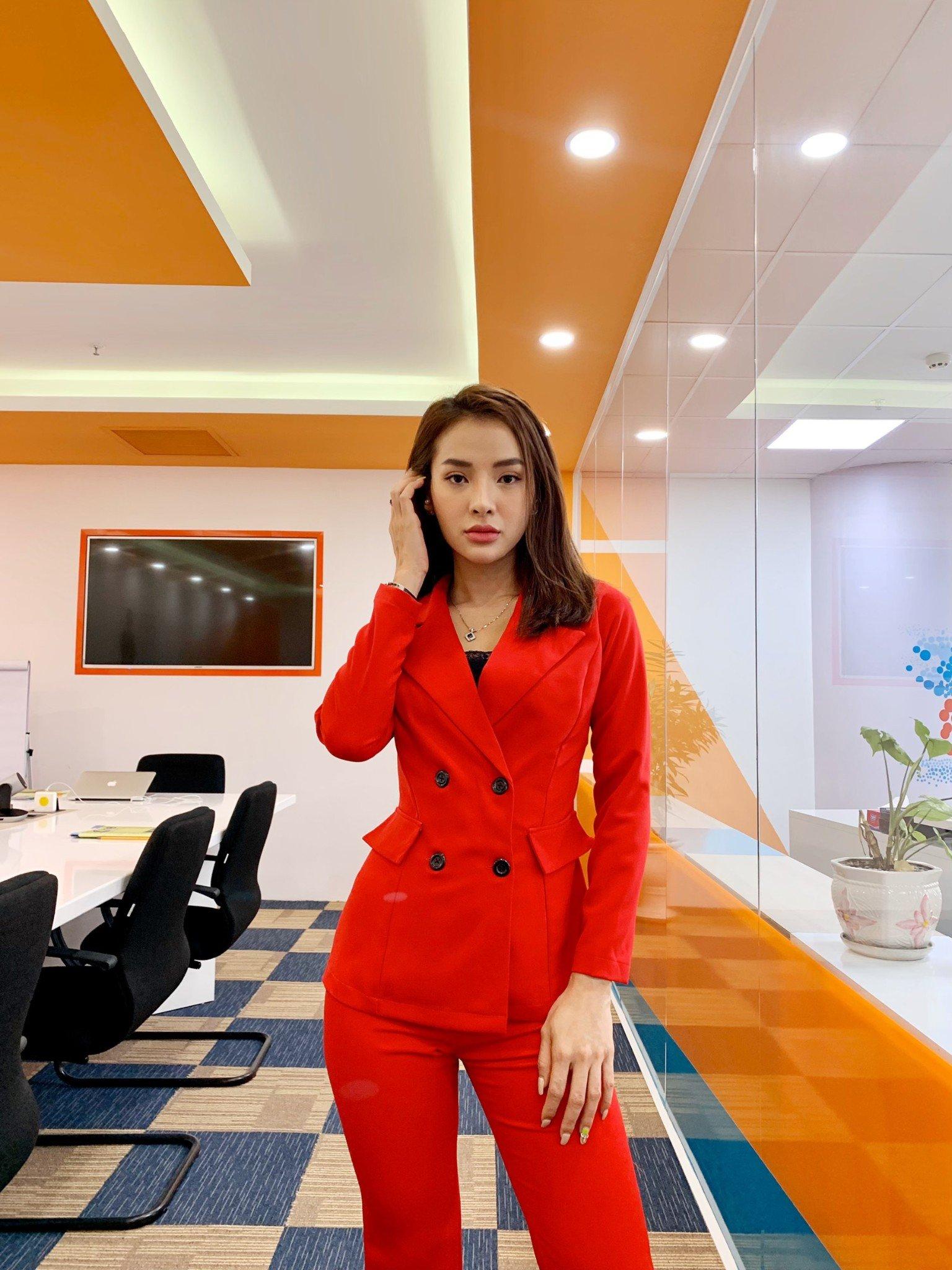 Vest nữ thời trang Mia Selena thiết kế phong cách sang trọng (Đỏ)