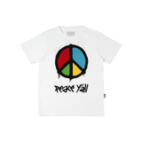 Peace Y'all Kids Tee