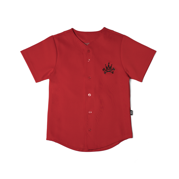 P Logo Kids Baseball Shirt