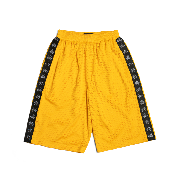 LOGO MESH BASKETBALL SHORT