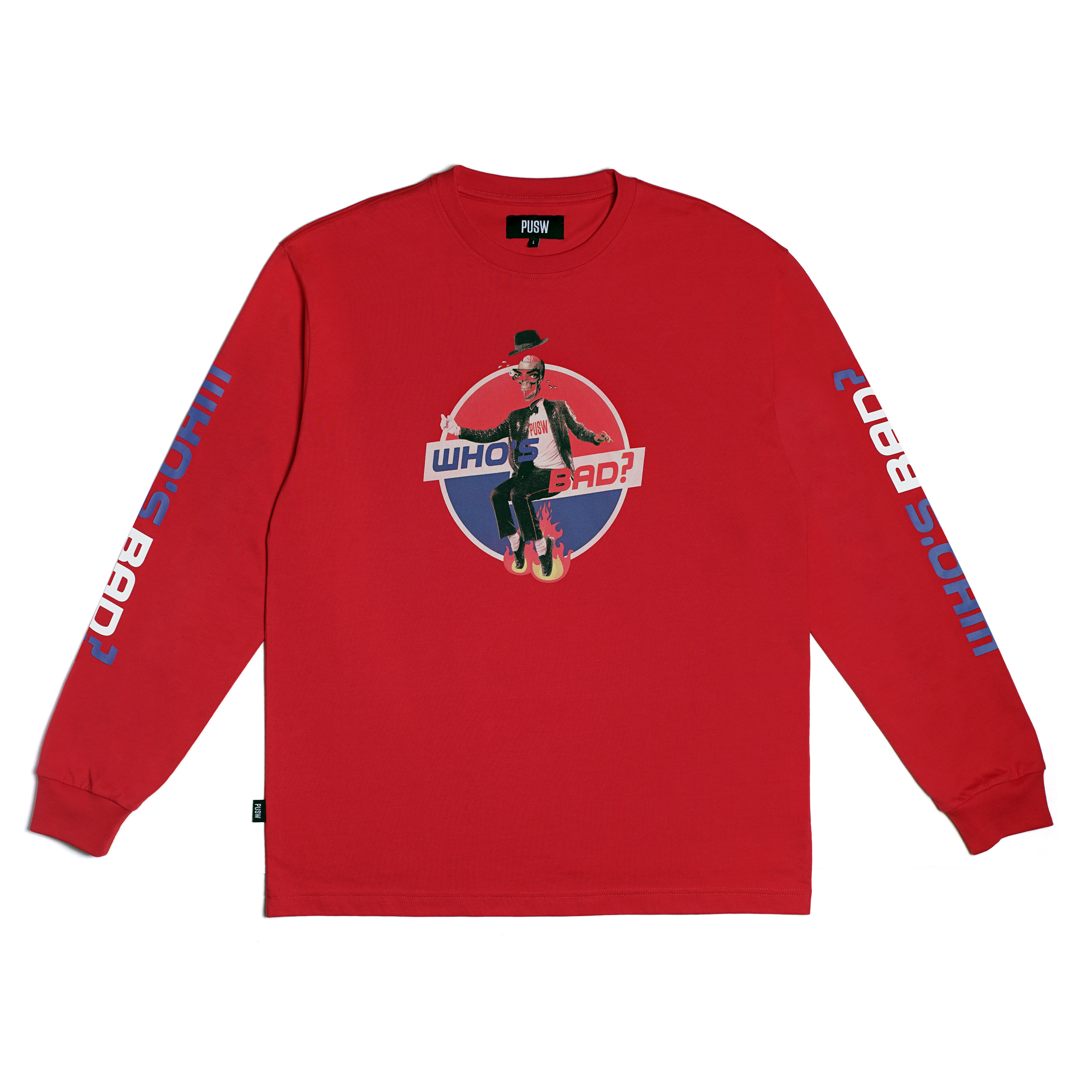 Who's Bad L/S Tee