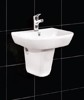 Wash Basin ADEL + Short Pedestal