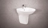 Wash Basin CB103 + Short Pedestal CCN142