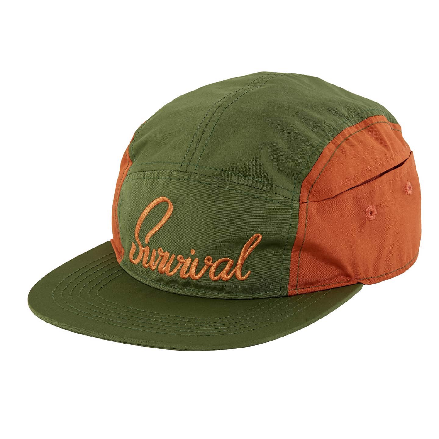 Survival 5 Panels / Green-Orange