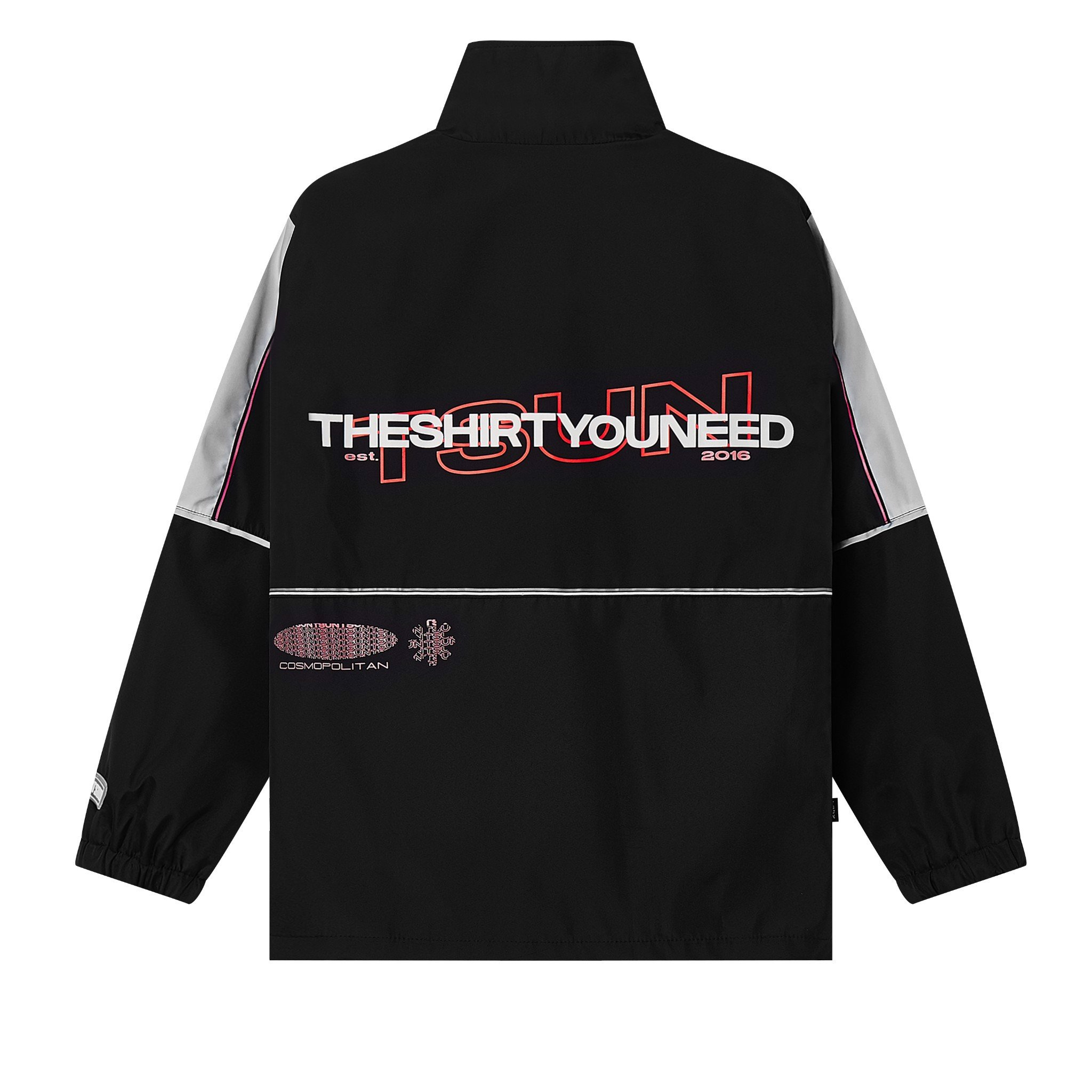 TSUN Out Door Jacket - B/R