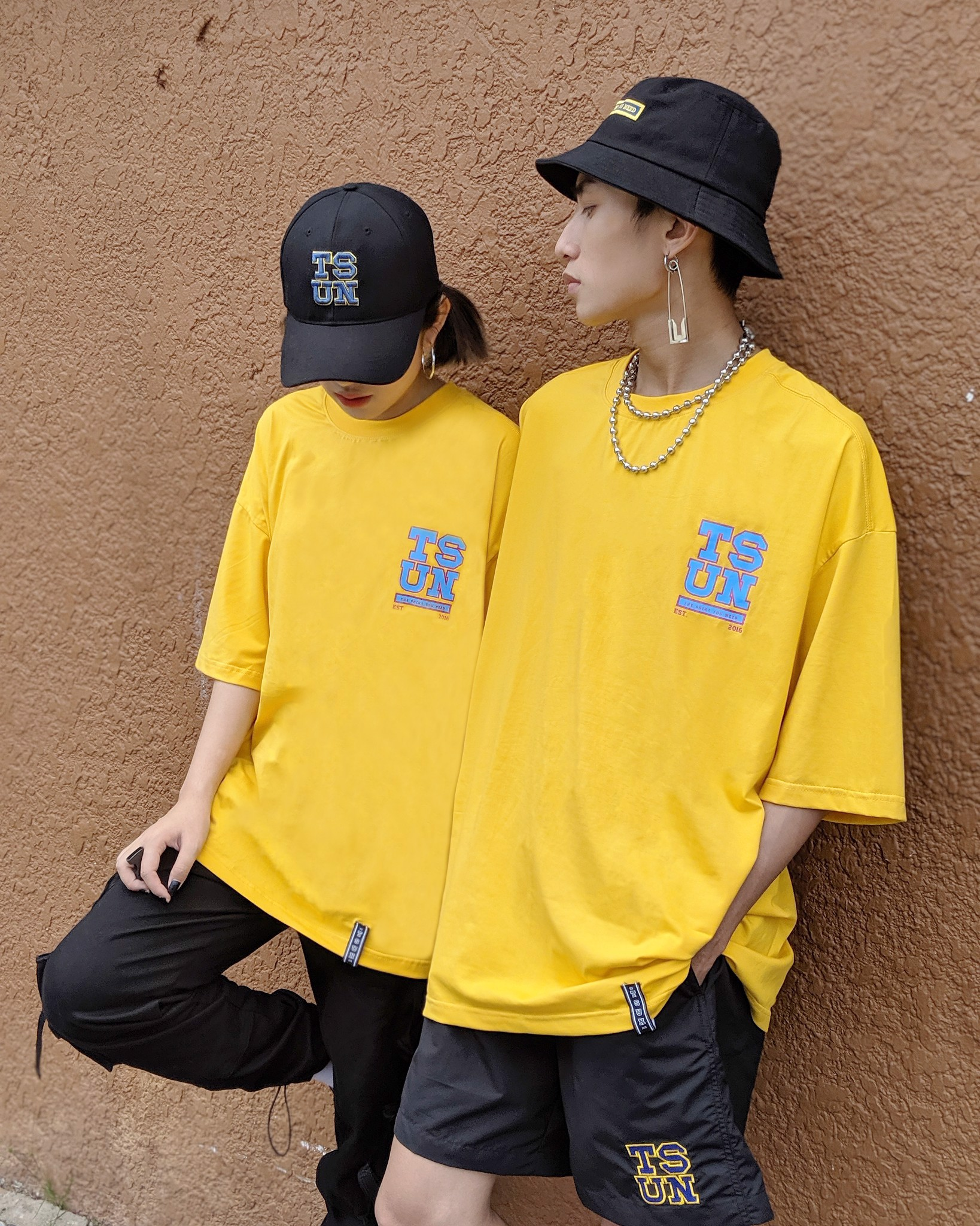 SIGNATURE LOGO TEE / YELLOW