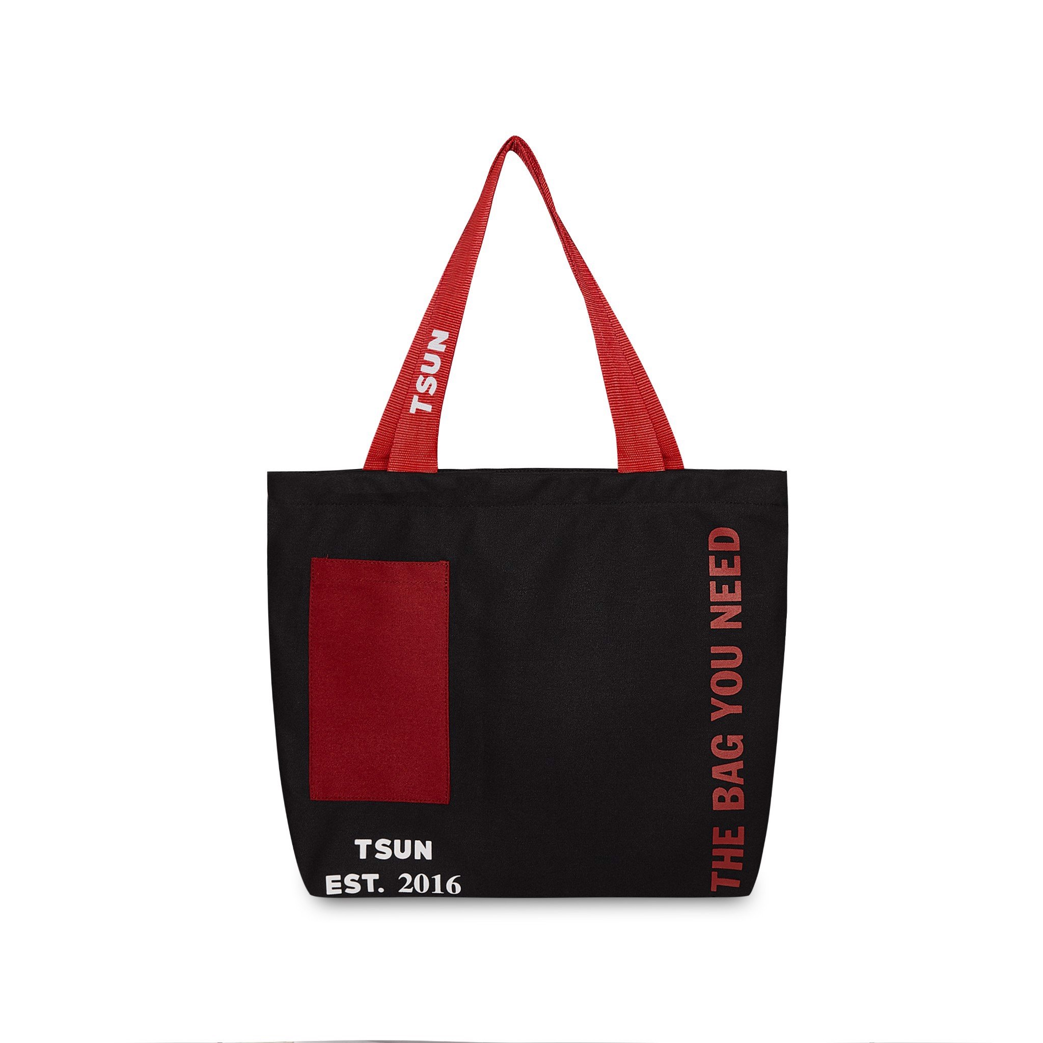 Tote Bag Canvas/Black
