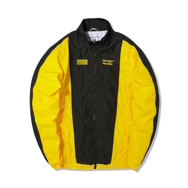 Stripes Jacket (Black Yellow) (No Restock)