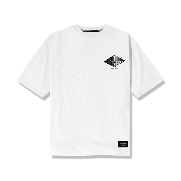 The Maze Tee (White) (No Restock)
