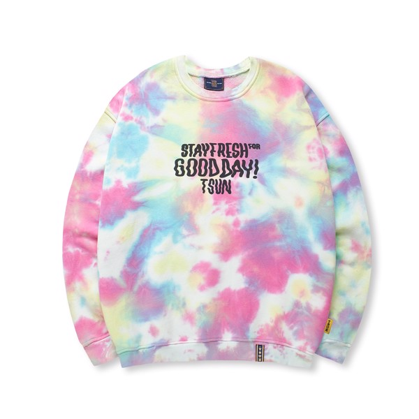 Sweater Tiedye - Rainbow
