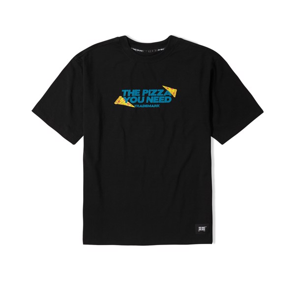 Pizza Tee 2 (Black,Blue) (No Restock)