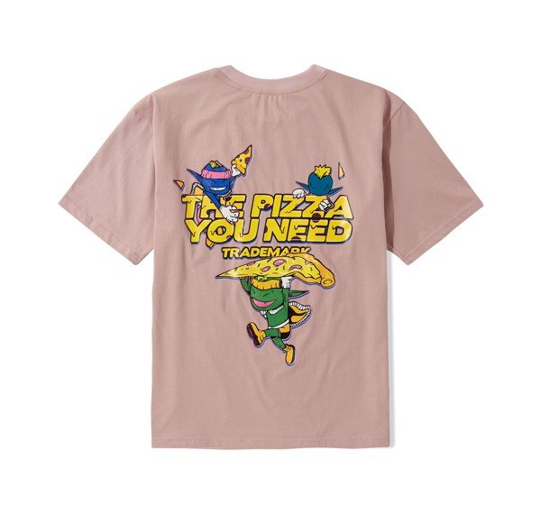 Pizza Tee (Pink) (No Restock)