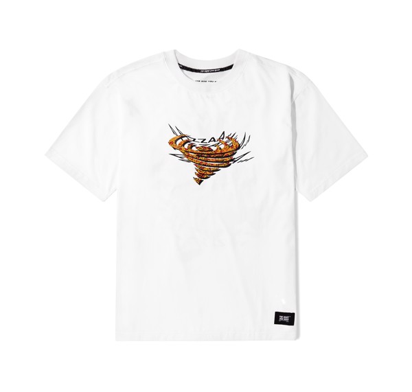 Pizza Tee (White) (No Restock)