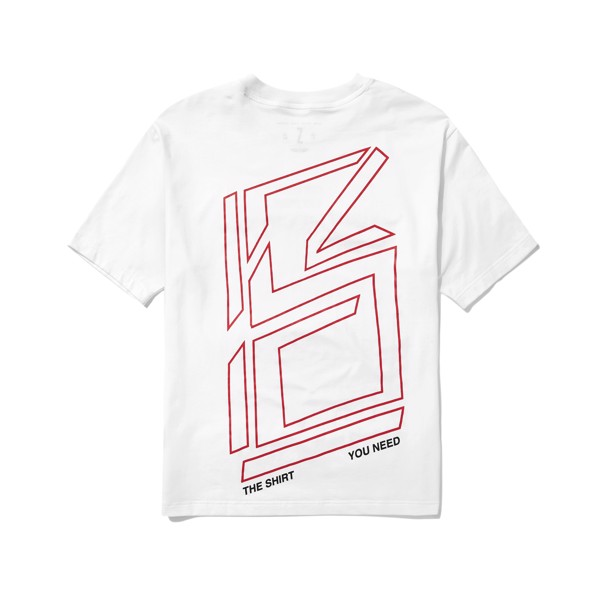 Big Logo Tee (White) (No Restock)