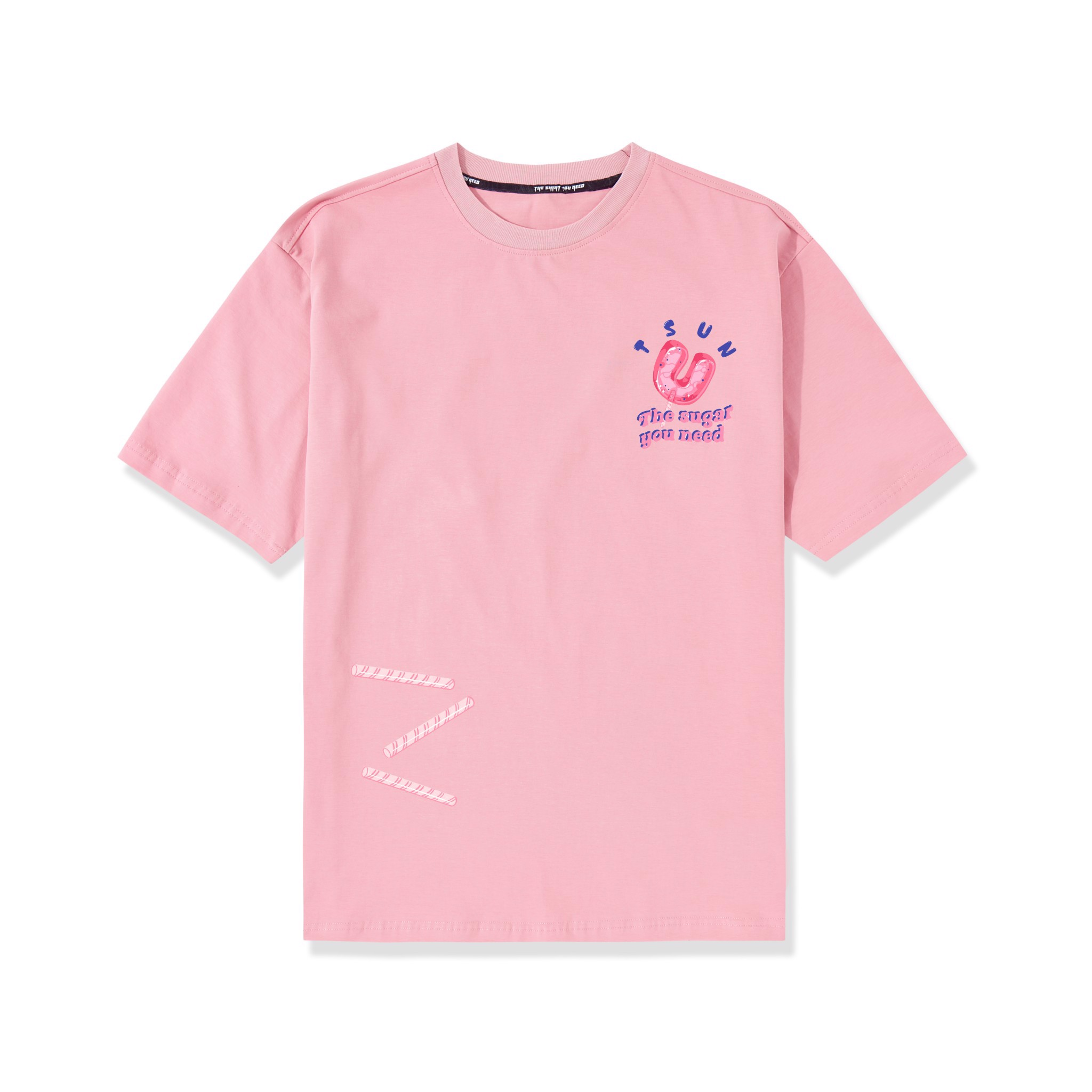 Candy Tee-Pink