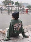 Leader Sweater/Green