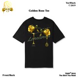 Golden Rose Tee/Black