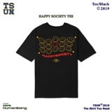 Happy Social Tee - Black