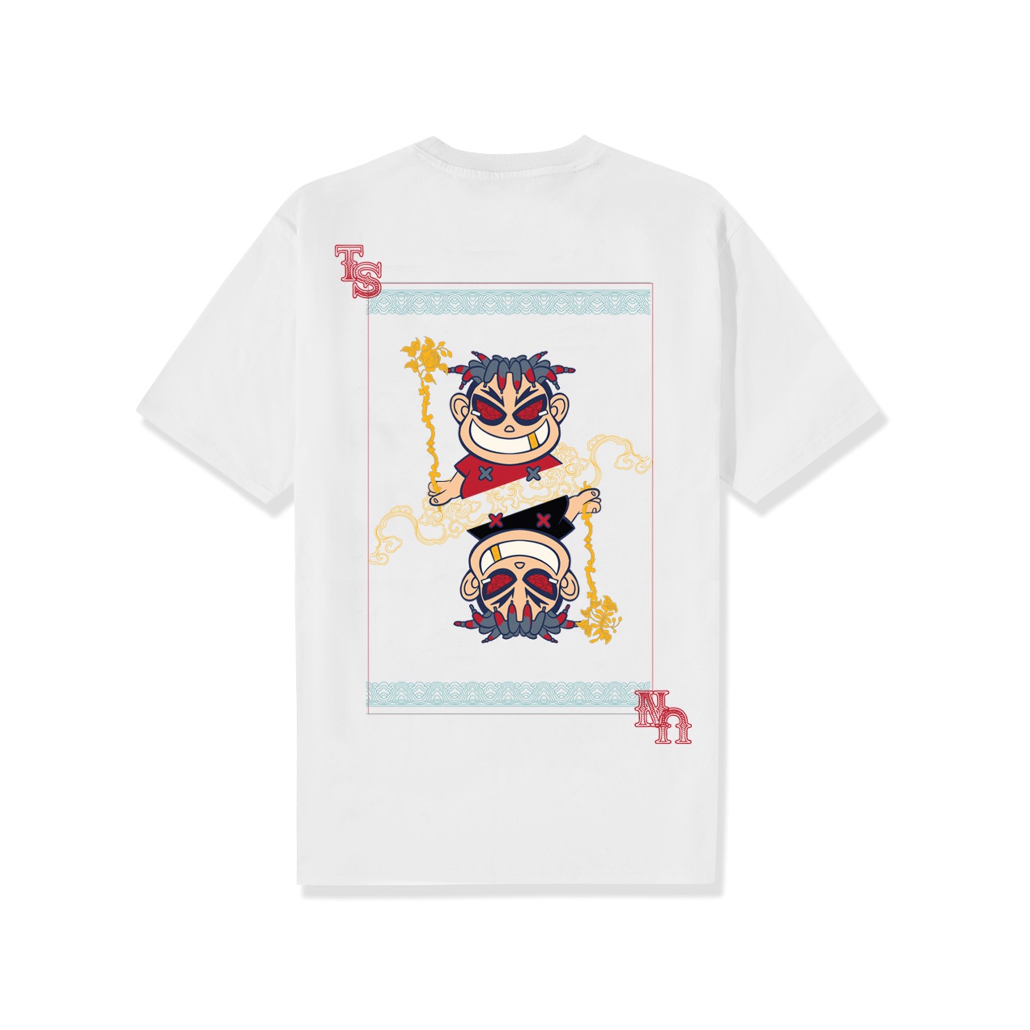 Double King Tee - White