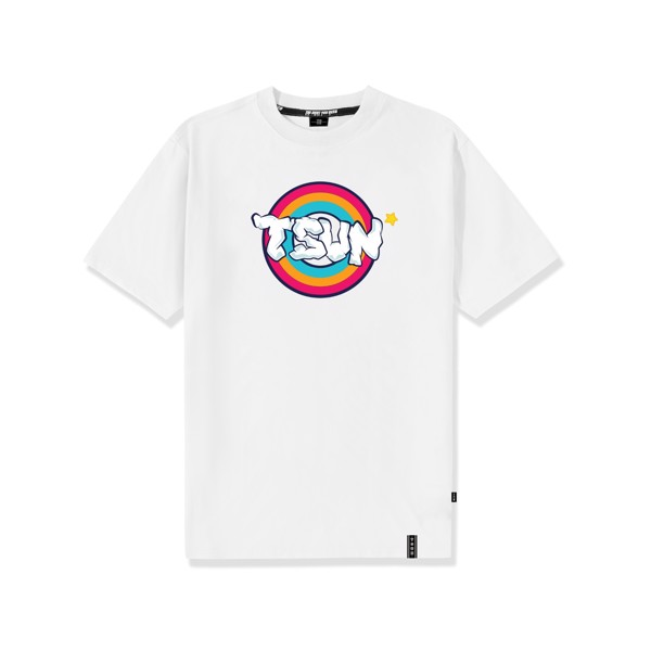 Less Monday Tee - White